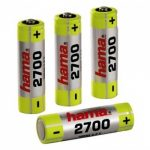 Hama AA 2700 mAh Rechargeable Battery – FOUR PACK