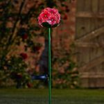 Smart Garden Solar Rose Bloom Flower Stake Light, 2 Pack