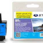 Brother LC900 Cyan Remanufactured Ink Cartridge by JetTec – B9C