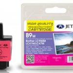 Brother LC900 Magenta Remanufactured Ink Cartridge by JetTec – B9M