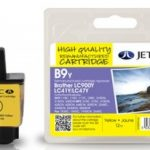 Brother LC900 Yellow Remanufactured Ink Cartridge by JetTec – B9Y