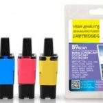 Brother LC900 B/C/M/Y Remanufactured Ink Cartridge by JetTec – B9Combi
