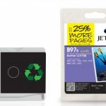 Brother LC-970B Black Remanufactured Ink Cartridge by JetTec – B97B