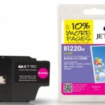 Brother LC-1220M Magenta Remanufactured Ink Cartridge by JetTec – B1220M