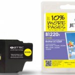 Brother LC-1220Y Yellow Remanufactured Ink Cartridge by JetTec – B1220Y
