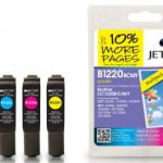 Brother LC-1220 BCMY Multipack Remanufactured Ink Cartridge by JetTec – B1220/B/C/M/Y