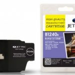 Brother LC-1240B Black Remanufactured Ink Cartridge by JetTec – B1240B