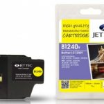 Brother LC-1240Y Yellow Remanufactured Ink Cartridge by JetTec – B1240Y