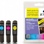 Brother LC-1240 BCMY Multipack Remanufactured Ink Cartridge by JetTec – B1240/B/C/M/Y