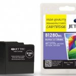 Brother LC-1280BXL Black Remanufactured Ink Cartridge by JetTec – B1280BXL