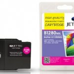 Brother LC-1280MXL Magenta Remanufactured Ink Cartridge by JetTec – B1280MXL