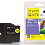 Brother LC-1280YXL Yellow Remanufactured Ink Cartridge by JetTec – B1280YXL