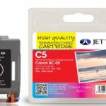 Canon BC-05 Colour Remanufactured Ink Cartridge by JetTec – C5