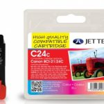 Canon BCI-21/24 Colour Compatible Ink Cartridge by JetTec – C24C
