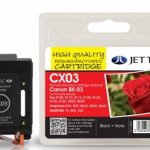Canon BX-3 Black Remanufactured Ink Cartridge by JetTec – CX03