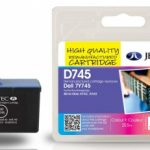Dell 7Y745 Colour Remanufactured Ink Cartridge by JetTec – D745