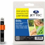 Epson T0441 Black Remanufactured Ink Cartridge by JetTec – E44B