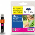 Epson T0443 Magenta Remanufactured Ink Cartridge by JetTec – E44M