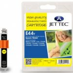 Epson T0444 Yellow Remanufactured Ink Cartridge by JetTec – E44Y