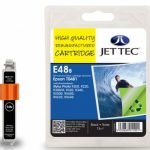 Epson T0481 Black Remanufactured Ink Cartridge by JetTec – E48B