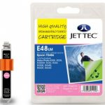 Epson T0486 Photo Magenta Remanufactured Ink Cartridge by JetTec – E48LM