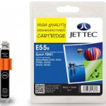 Epson T0551 Black Remanufactured Ink Cartridge by JetTec – E55B