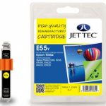 Epson T0554 Yellow Remanufactured Ink Cartridge by JetTec – E55Y