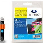 Epson T0612 Cyan Remanufactured Ink Cartridge by JetTec – E61C