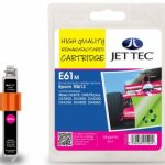 Epson T0613 Magenta Remanufactured Ink Cartridge by JetTec – E61M
