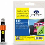 Epson T0614 Yellow Remanufactured Ink Cartridge by JetTec – E61Y