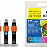 Epson T0715 B/C/M/Y MULTIPACK Remanufactured Ink Cartridge by JetTec – E71B/C/M/Y