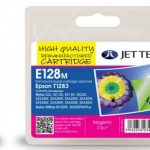 Epson T1283 Magenta Remanufactured Ink Cartridge by JetTec – E128M