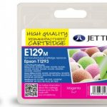 Epson T1293 Magenta Remanufactured Ink Cartridge by JetTec – E129M