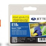 Epson T1801 Black Compatible Ink Cartridge by JetTec – E18B
