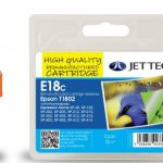 Epson T1802 Cyan Compatible Ink Cartridge by JetTec – E18C