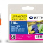 Epson T1803 Magenta Compatible Ink Cartridge by JetTec – E18M