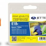 Epson T1804 Yellow Compatible Ink Cartridge by JetTec – E18Y