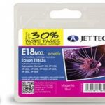 Epson T1813 Magenta XL Remanufactured Ink Cartridge by JetTec – E18MXL