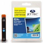 Epson T2422 Cyan Remanufactured Ink Cartridge by JetTec – E24C