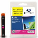 Epson T2423 Magenta Remanufactured Ink Cartridge by JetTec – E24M