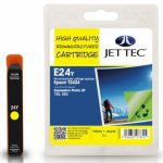 Epson T2424 Yellow Remanufactured Ink Cartridge by JetTec – E24Y