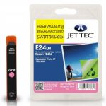 Epson T2426 Light Magenta Remanufactured Ink Cartridge by JetTec – E24LM