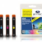 Epson T2421/2/3/4/5/6 Multipack Remanufactured Ink Cartridge by JetTec – E24B/C/M/Y/LC/LM