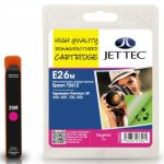 Epson T2613 Magenta Remanufactured Ink Cartridge by JetTec – E26M