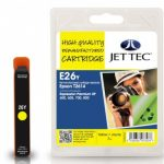 Epson T2614 Yellow Remanufactured Ink Cartridge by JetTec – E26Y