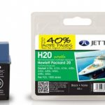 HP20 C6614DE Black Remanufactured Ink Cartridge by JetTec – H20