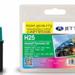 HP25 51625AE Colour Remanufactured Ink Cartridge by JetTec – H25