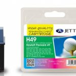 HP49 51649AE Colour Remanufactured Ink Cartridge by JetTec – H49