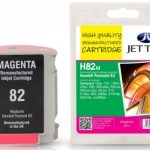 HP82M C4912A Magenta Remanufactured Ink Cartridge by JetTec – H82M