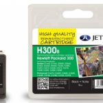 HP300 BLK CC640EE Black Remanufactured Ink Cartridge by JetTec – H300B